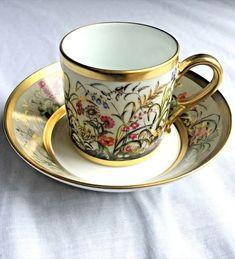 Tea Cup Set, My Cup Of Tea, Cup And Saucer Set, Tea Cup Saucer, Tea Sets, Vintage Cups, Vintage Tea, Teapots And Cups, Teacups