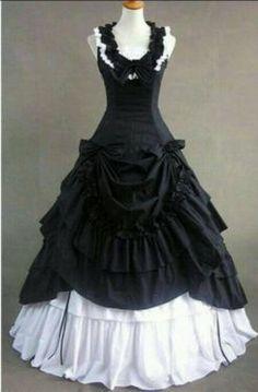 RESERVIERT♥ Gothic Brautkleid ♥ 46 48 50 XXL inkl Zubehör