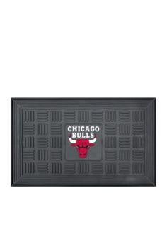 Fanmats  Nba Chicago Bulls Medallion Door Mat - Black