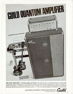Guild Guitars, Bass Guitars, Bass Amps, Cool Gear, Vintage Guitars, Guitar Amp, Vintage Advertisements, Good Music, Advertising