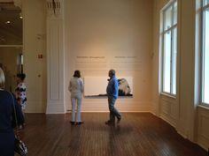 """Ou le Regard se perd"" exhibition by artist Éloise Brodeur at the Sherbrooke Museum of Fine Arts Museum Of Fine Arts, Contemporary Art, Street Art, Art Gallery, Artist, Modern, Art Museum, Trendy Tree, Artists"