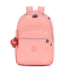 Seoul Laptop Backpack - Pink Sherbert | Kipling