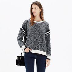 Madewell - Diamondflip Sweater #giftwell #sweeps