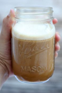 How to Make Bulletproof Coffee- sub coconut oil for MCT oil #lowcarb #yum #paleo