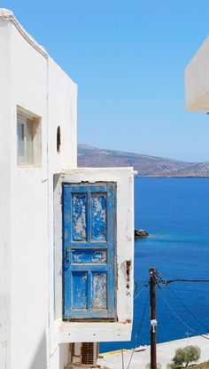 The beautiful details of Astypalea Island, Greece.