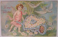 https://flic.kr/p/4nZNmZ | Vintage Valentine's Day Postcard