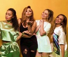 Little Mix looking stunning as always. Perrie Edwards, Jesy Nelson, Becky G, Little Mix Jesy, X Factor, Litte Mix, Les Brown, Mixed Girls, Girl Bands