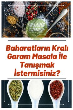 #organik #kendinyap #baharat #organikzamani #sifalibitkiler Garam Masala, Food And Drink, Cooking, Breakfast, Recipes, Kitchen, Morning Coffee, Kochen