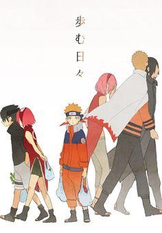 Naruto, Sasuke, Sakura