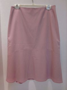 New with Tags Ann Taylor Light Pink A-Line Skirt Size 10 Lined Wool Blend #AnnTaylor #ALine