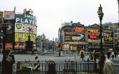 Piccadilly Circus 1962 Piccadilly Circus, Old London, Air India, Westminster, Vintage Photos, Times Square, Nostalgia, England, Explore