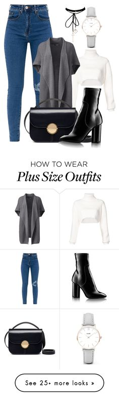 """Untitled #2053"" by social-outcast-16 on Polyvore featuring Alexandre Vauthier, Lands' End, Marni, CLUSE, Louis Vuitton, WithChic and plus size clothing"