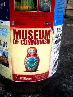 Museum about communism that's located above a McDonald's. Seriously.