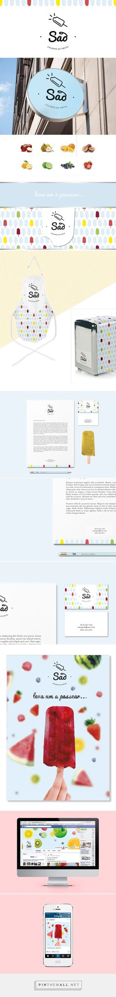 São Fruit Ice Creams on Behance | Fivestar Branding – Design and Branding…