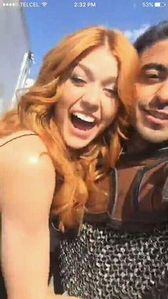 Kat and Jade #ShadowhuntersSeason3