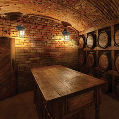 Turning Your Basement into the Ultimate Man Cave Can Be Fun - Man Cave Home Bar Man Cave Diy, Man Cave Home Bar, Wine Cellar Basement, Home Wine Cellars, Wine Cellar Design, In Vino Veritas, Wine Storage, Outdoor Walls, Outdoor Lighting