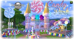 various sims 4 The Sims 4 Lots, The Sims 4 Pc, Sims 4 Teen, Sims Cc, 4th Birthday Parties, Birthday Party Decorations, Sims 4 Controls, Muebles Sims 4 Cc, Sims Building