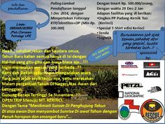 Open trip to Mt. Kerinci, happy new years...!!  Joint now