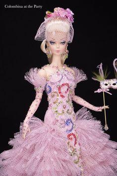 Magia2000 OOAK Dolls Ooak Dolls, Graphic Art, Barbie, Fashion Design, Dresses, Fantasy, Vestidos, Dress, Gown