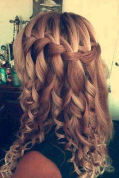 Great hair! :)