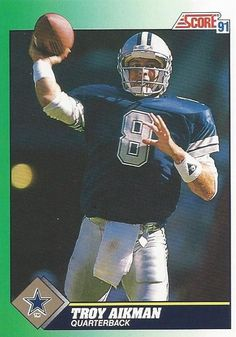 troy aikman football card | Troy Aikman Football Trading Card Score by FloridaFindersSports, $2.00