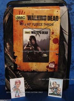 "Walking Dead Throw Blankets Magnificent Amazon  The Walking Dead Walker Soft Fleece Throw Blanket 46"" X Design Inspiration"