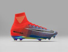 size 40 7a34b cc438 Nike Football X EA Sports Mercurial Superfly FG Cramoisi total Chaussure  Nike Pas cher De football