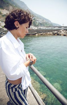 Pinning so I can ask hairdresser for this cut!!! KARLA'S CLOSET: The Amalfi Coast