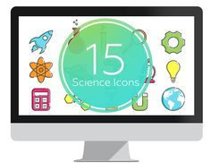 Science Icons set for PowerPoint. change colors and scale them without losing quality. The This is the must-have icons set for teachers. Powerpoint Icon, Science Icons, Icon Set, Icon Design, Color Change, Presentation, Teacher, Graphic Design, Templates