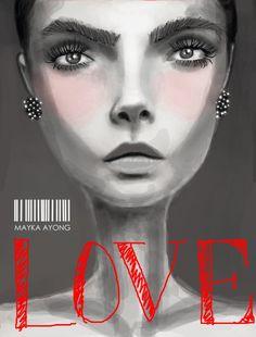 #love #illustration #art #fashion