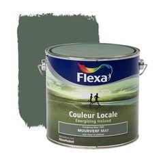Flexa Couleur Locale muurverf Energizing Ireland mat Moss 2,5 l | Muurverf kleur | Muurverf | Verf & verfbenodigdheden | KARWEI