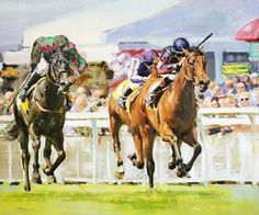 Lilbourne Lad, The Curragh by Conor Mcguire on ArtClick.ie