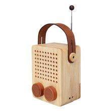 Mini Dolmen Bois Radio Bambou by Lexon Design furniture and