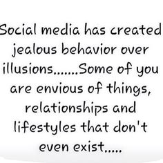 Dont believe everything you see or read on social media. People value themselves based on what other people are showing of their real lives. Lets be realistic everyone wants to feel good & look good which we all should but the reality people in this world will show you lies or at least what they want you to see to give you an idea of this great outstanding life they live. social media is a great tool for marketing and connecting with others but just dont revolve your life around it…