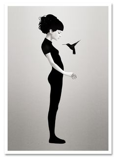 """""""Let You Be"""" by Ruben Ireland. 12″ x 17″ Giclee. Ed of 25 S/N."""