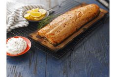 Cedar Plank Salmon with Dill Sauce Recipe