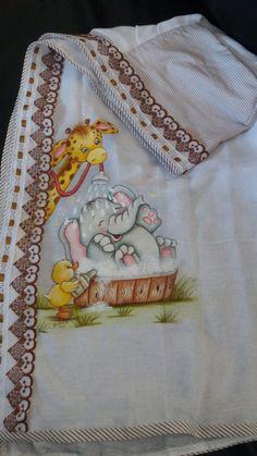 Baby Painting, Nursery Paintings, Tole Painting, Painting For Kids, Fabric Painting, Animal Paintings, Nursery Art, Diy Dorm Decor, Baby Shower Items