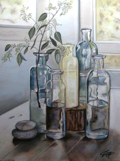 BRIN DE FLEUR pastel   by Catherine Wernette kp