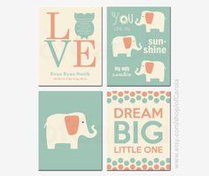 Baby Shower Gift Owl Birth Stats Dream Big Little One by ofCarola