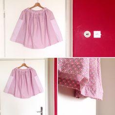 Skirt No. 01. Material from SINGERKA. Design by KARIMA