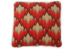 Vintage Bargello Pillow on OneKingsLane.com