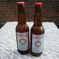 """BamBam Steenbier"": granite lends a mineral taste Bambam, Beer Bottle, Natural Stones, Marble, Granite, Beer, Ideas, Marbles"
