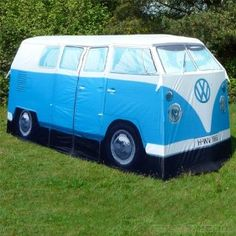 Replica 1965 Volkswagen Camper Van 4-person Tent