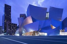Walt Disney Concert Hall, Los Angeles, by Frank Gehry