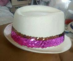 Chapéu panamá bordado
