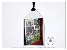 Go Saints! Amen! Super Bowl bookmark from theRDBcollection, only $4
