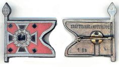 Kraftfahrkampftruppe __This set was sold on the and March 1940 (Tag der Wehrmacht)___ADV_Source: J Temple-West Charitable Donations, Pin Badges, Temple, Third, March, Temples, Mars