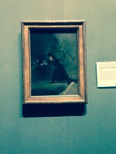 Francisco de Goya's 'The Forcibly Bewitched' at the National Gallery, Trafalgar Square. #studybreak