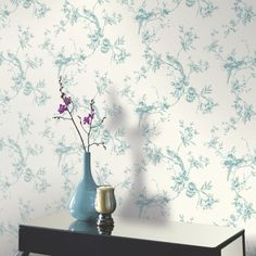 Shop Arthouse Opera Chinoise Floral Pattern Songbird Flower Motif Wallpaper (Plum Free delivery on eligible orders of or more. Tree Wallpaper, Wallpaper Ideas, Bird Tree, Wonderwall, Home Art, Shabby Chic, Tapestry, Birds, Flowers