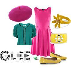 """Glee"" by kerogenki on Polyvore"